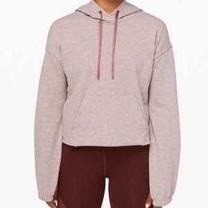 Lululemon x Barry's Stronger As One Cropped Hoodie